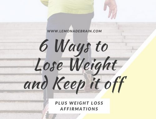 6 ways to lose weight and keep it off