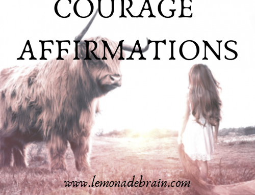 Courage Affirmations