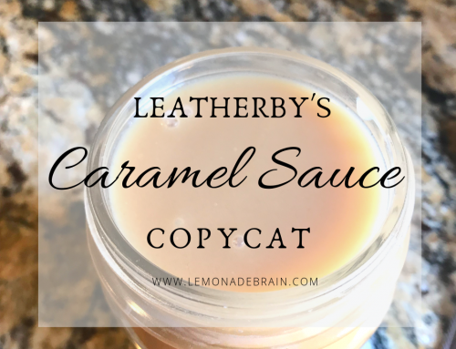 Leatherby's Caramel Sauce Copycat