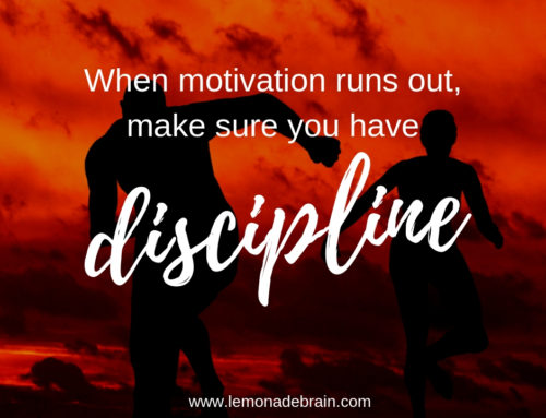 It's about Discipline